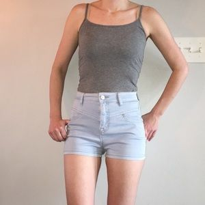 BDG super high rise denim shorts. Sz 26